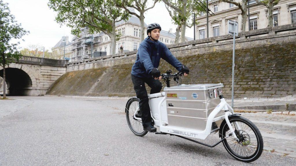livraison en vélo cargo